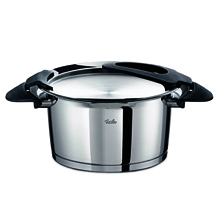 INTENSA BLACK STEW POT 24CM 5.1LTR